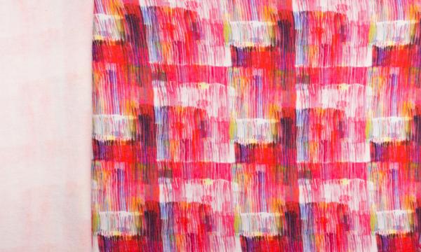 Digital Kuschelsweat ~ Streifen gemalt