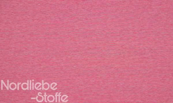 Jersey ~ zarte Streifen Rot 0,8m LETZTES Stück