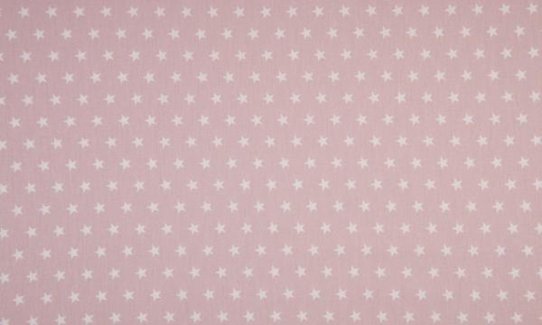 Baumwolle ~ Sterne auf Light Rosa