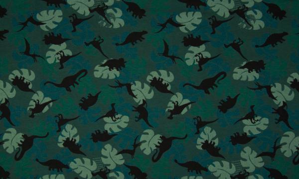 Jersey ~ Dinosaurier Dunkelgrün