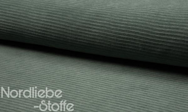 Cord Jersey ~ Oldgreen 1,35 m LETZTES Stück