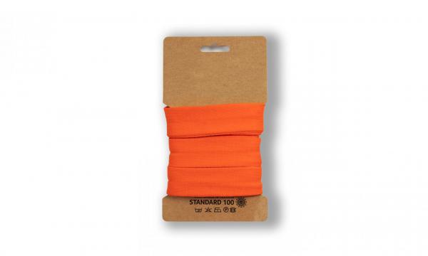 3 Meter Jersey Schrägband Orange 20mm