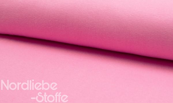 Bündchen Feinripp ~ UNI Light Pink