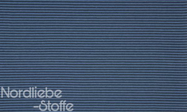 Ringel Bündchen ~ Jeansblau Navy 3mm