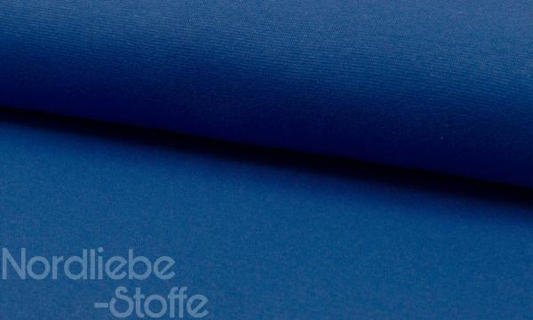 Bündchen Feinripp ~ UNI Royalblau