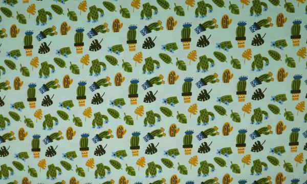 Jersey ~ Kaktus auf Mint
