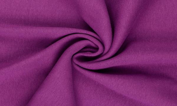 Bündchen Feinripp ~ UNI Violett