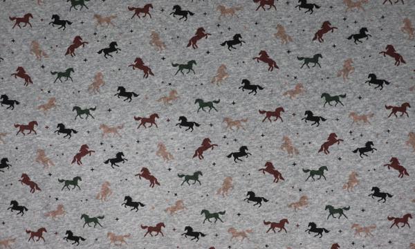 Baumwoll Stepp ~ Pferde