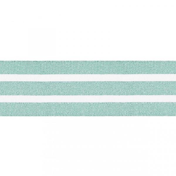 Gummiband elastisch 50 mm ~ Grün