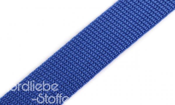 PP Gurtband 25mm KobaltBlau
