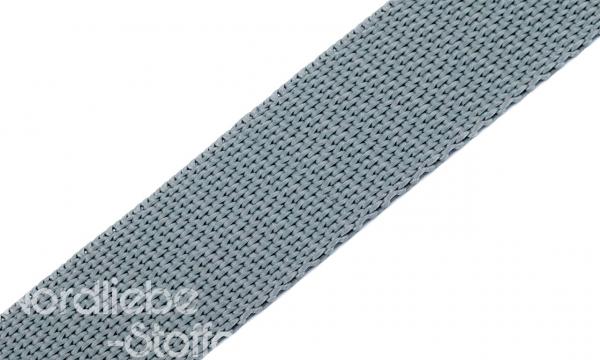 PP Gurtband 25mm Grau