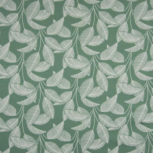 ORGANIC Kuschelsweat ~ Blätter Grün