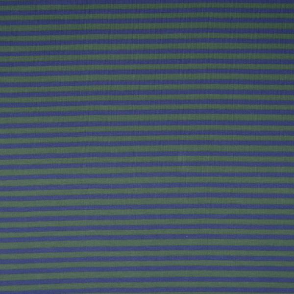 Jersey ~ schmale Streifen Lila Grün