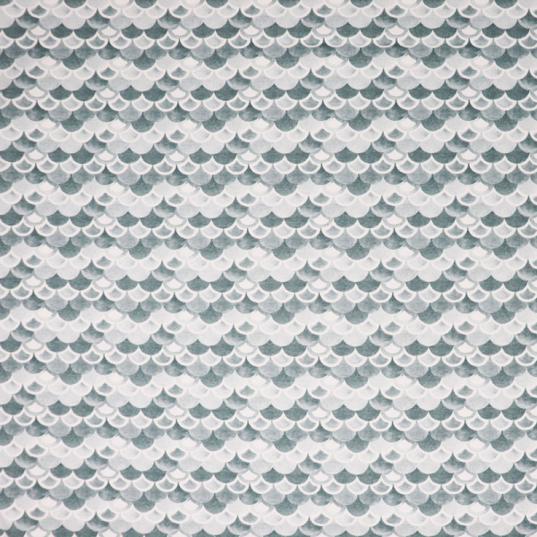 SWAFING Nautical Baby Jersey ~ Schuppen Oldgreen Offwhite