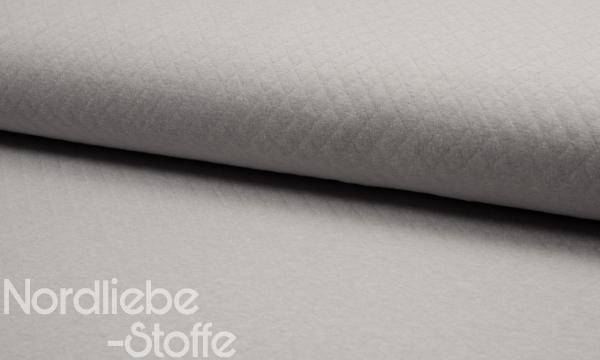 Baumwoll Stepp ~ Silbergrau 1,1m LETZTES Stück