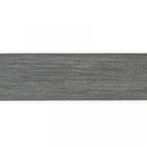 Gummiband elastisch 40 mm ~ UNI Hell Grau Melange