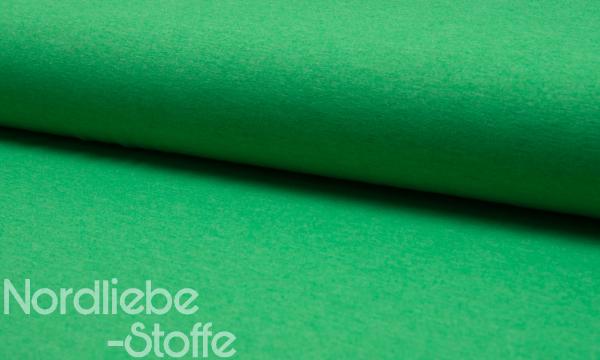 Jersey ~ MELANGE Grasgrün