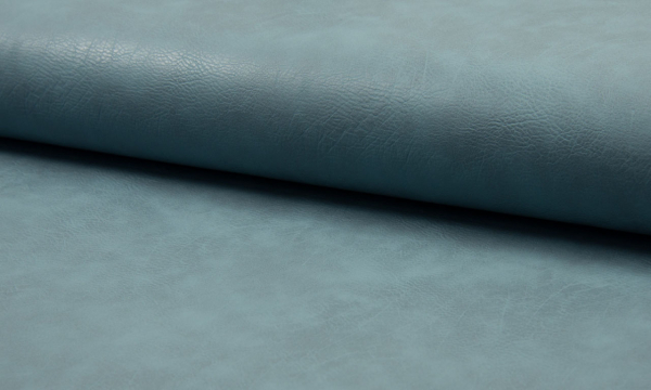 Kunstleder ~ Vintage Rauchblau