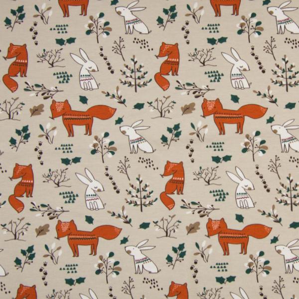 Jersey ~ Fuchs & Hase auf Sand