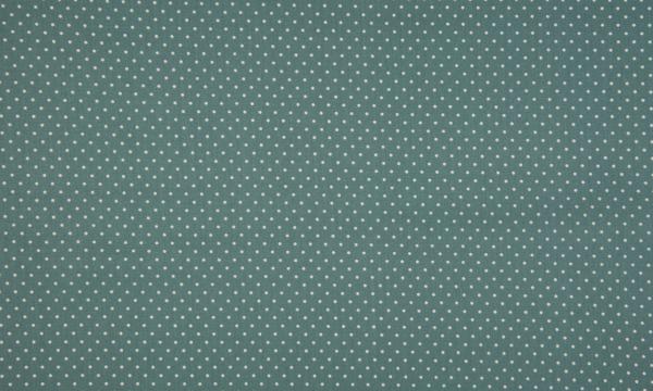 Baumwolle ~ kleine weiße Punkte auf Oldgreen