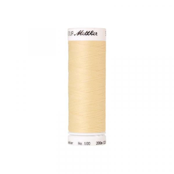 200m Mettler Amann SERALON Allesnäher Col. 0129 Vanilla
