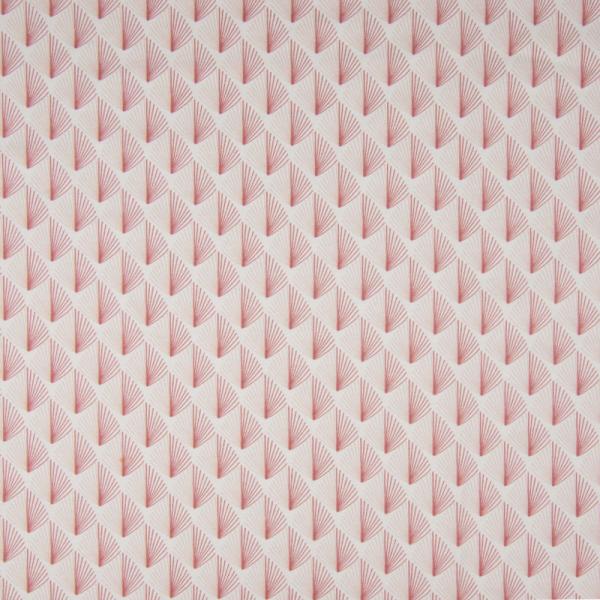 ORGANIC Jersey ~ Blätter - kleine Sträucher Puder Rosa