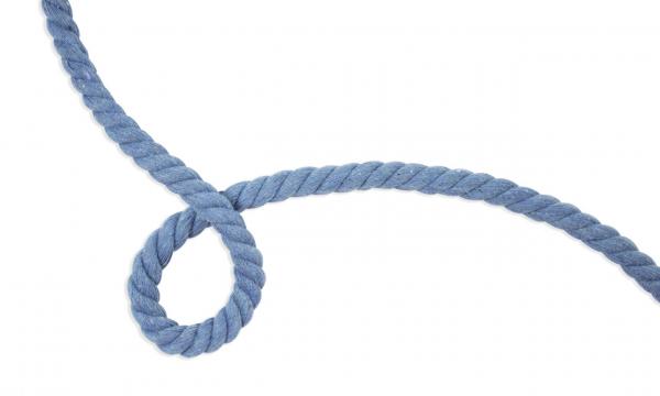 Gedrehte Kordel - Ø 10 mm UNI Jeans