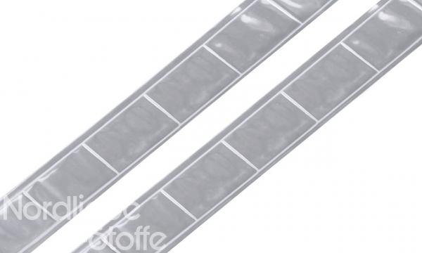 Reflektor- / Reflexband grau 25mm