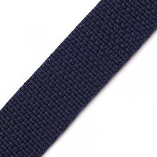 PP Gurtband 25mm navy