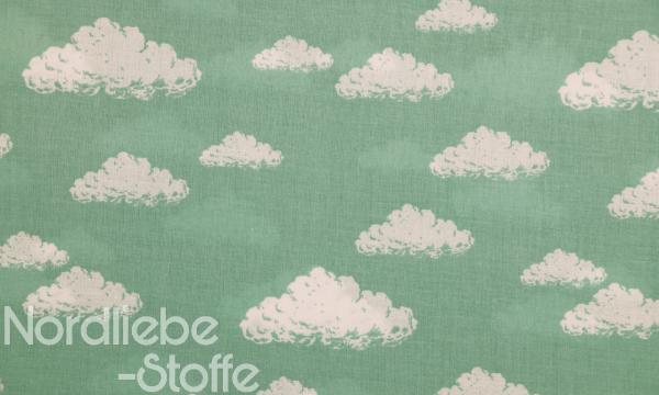 Baumwolle ~ Wolken auf Oldmint
