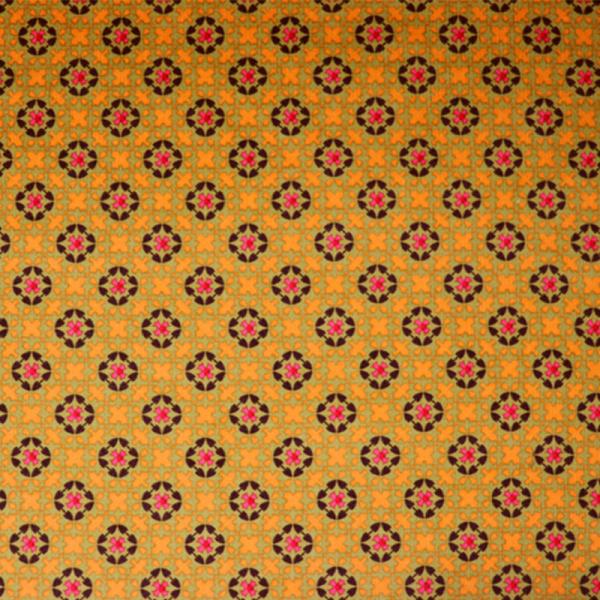 Feincord Kreuze Curry - Grün