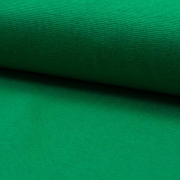 Bündchen Feinripp ~ UNI Apfelgrün