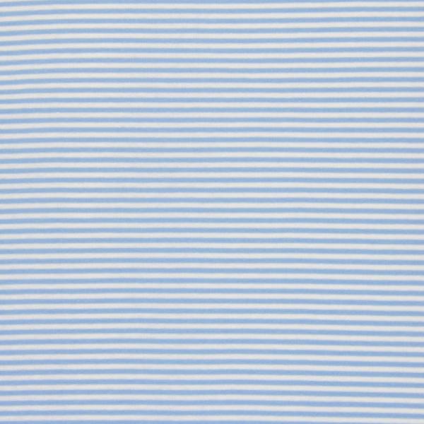 Ringel Bündchen ~ Hellblau Weiß 3mm