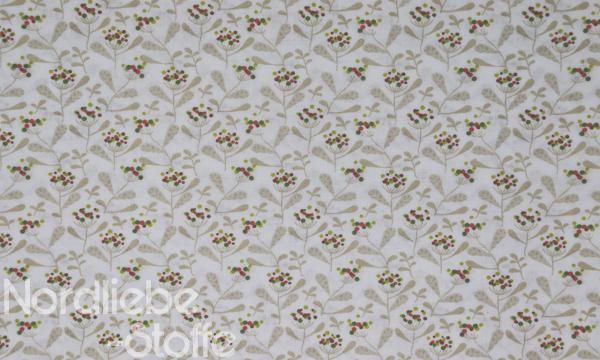 Baumwolle ~ Zweige beige