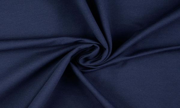 French Terry ~ UNI Nacht Blau 0,55 m LETZTES Stück