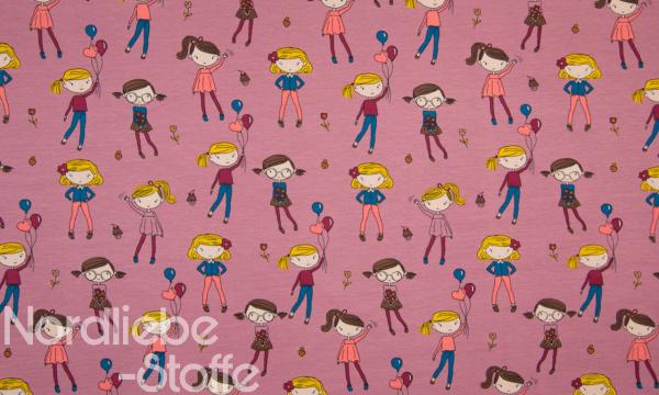 Jersey ~ Girls auf Fuchsia