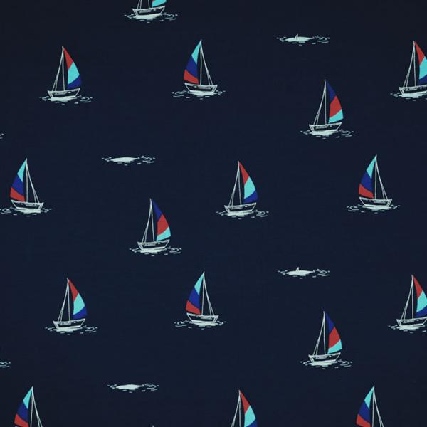 Jersey ~ Segelboote Blau