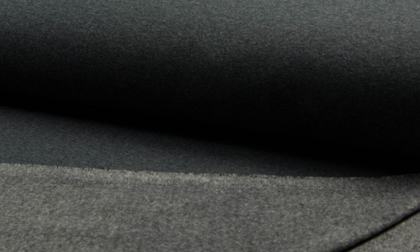 Alpenfleece ~ Dunkelgrau Melange