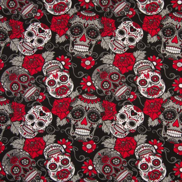 Jersey ~ Totenköpfe Rot