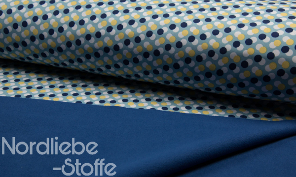 Softshell ~ Dots blau