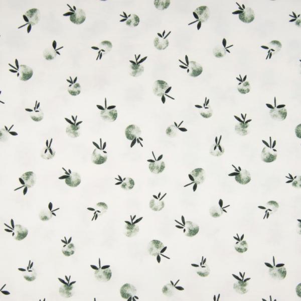 ORGANIC Jersey ~ Pfirsiche Grün