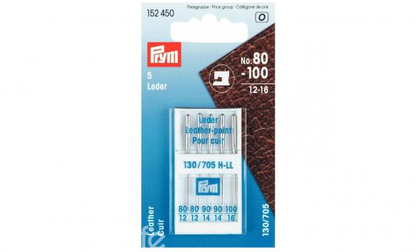 PRYM Leder Nähmaschinennadeln 80-100 5Stück