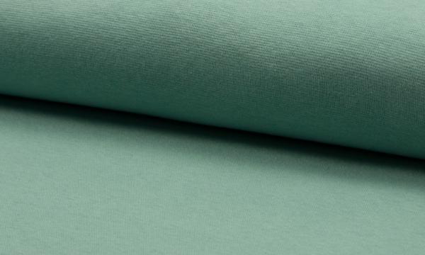 Bündchen Feinripp ~ UNI Dunkel Mint