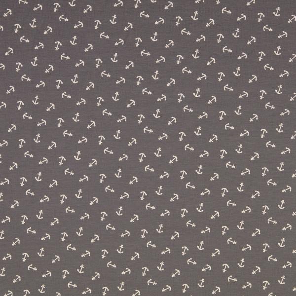 Jersey ~ mini Anker Grau