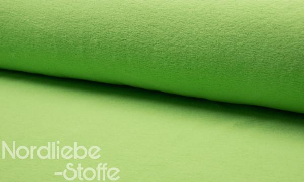 Baumwoll Fleece ~ Lime
