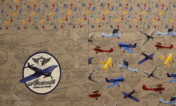 Jersey Panel ~ Aircraft Beige (1)