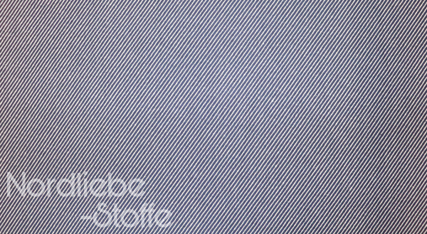 Deko ~ Leinenoptik blau weiße Streifen