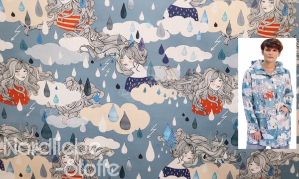 beschichtete Baumwolle ~ Rain