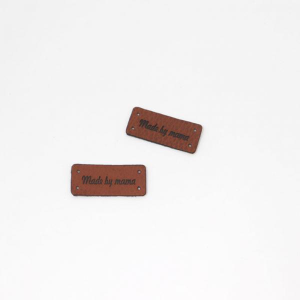 """Kunstleder Label """" Made by mama """""""
