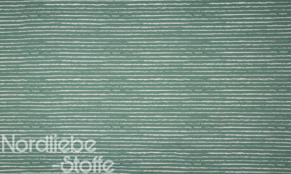 Baumwolle ~ Streifen Oldgreen